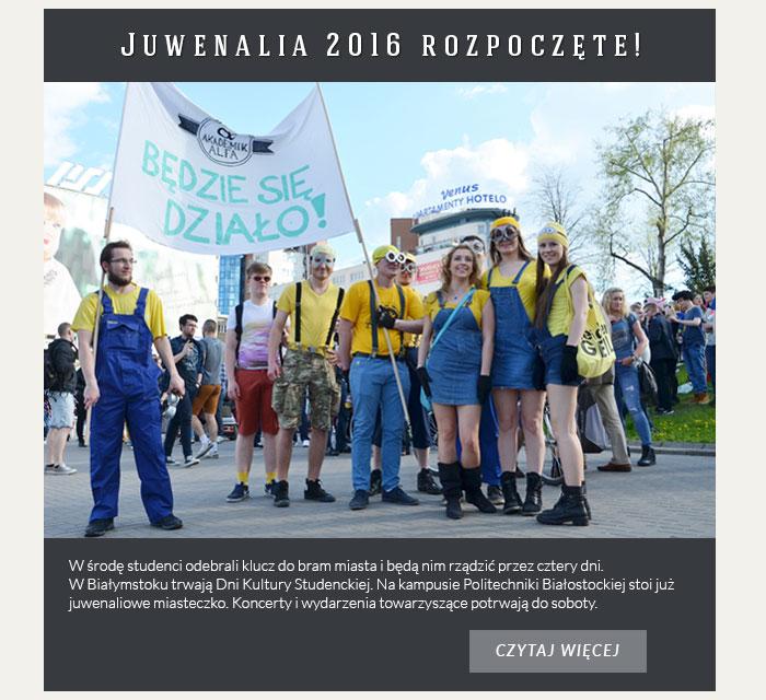 Juwenalia 2016 rozpoczęte!