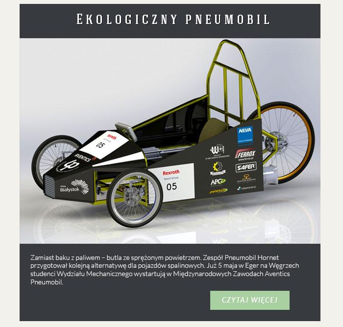 Ekologiczny pneumobil