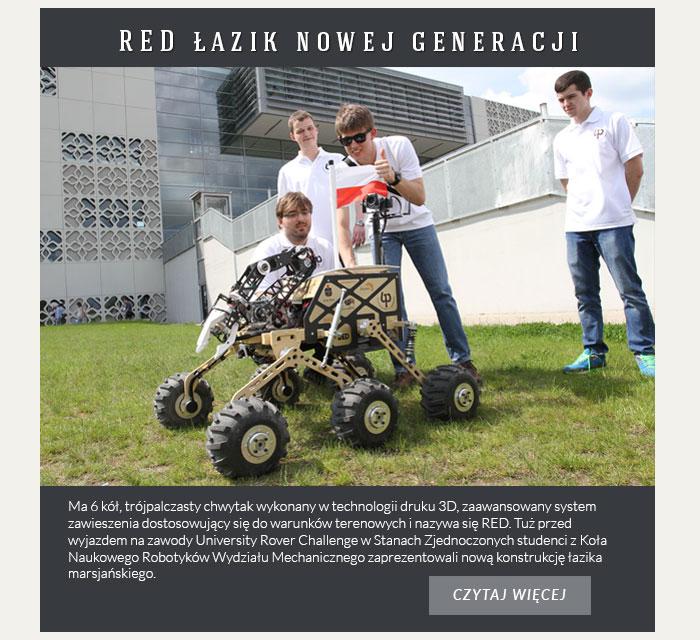 RED łazik nowej generacji