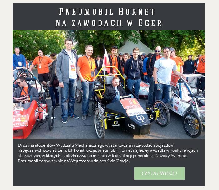Pneumobil Hornet na zawodach w Eger