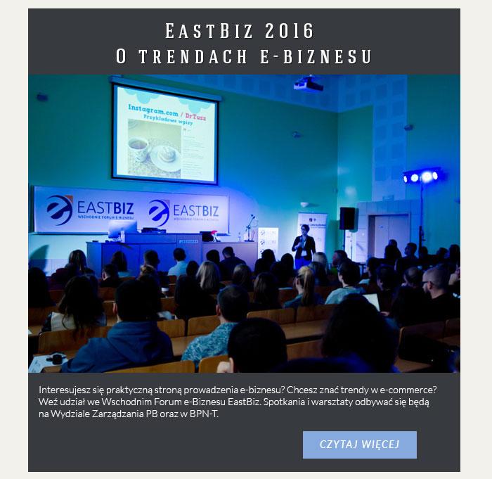 EastBiz 2016. O trendach e-biznesu