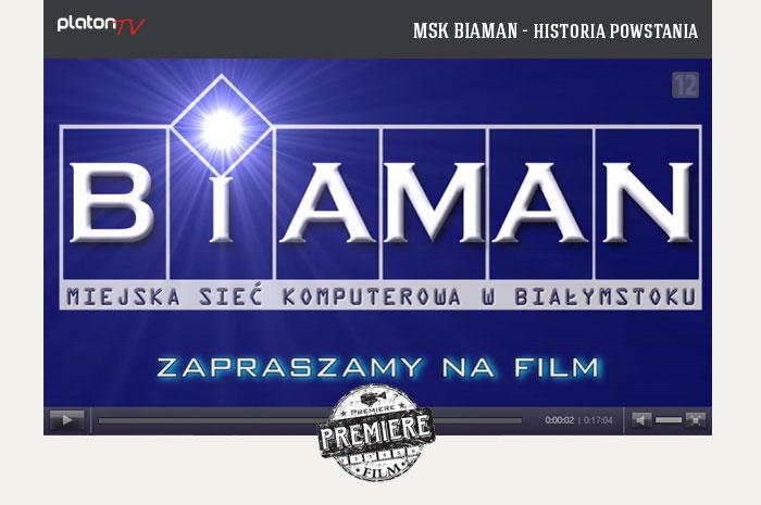 MSK BIAMAN - historia powstania