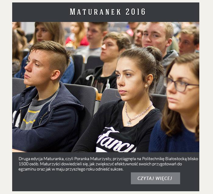 Maturanek 2016