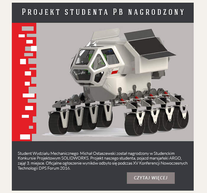 Nagroda dla studenta PB