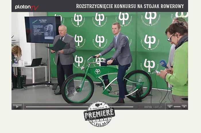 Platon - Rozstrzygnięcie konkursu na stojak rowerowy