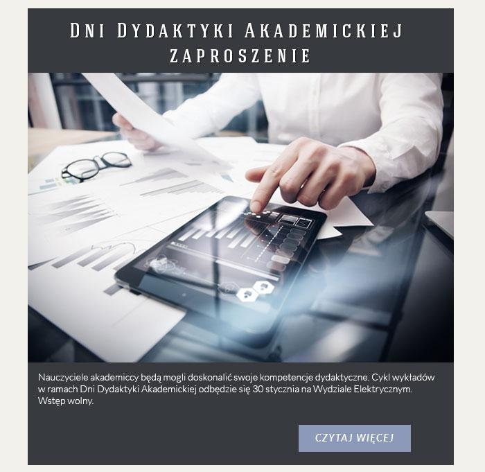 Dni Dydaktyki Akademickiej – zaproszenie