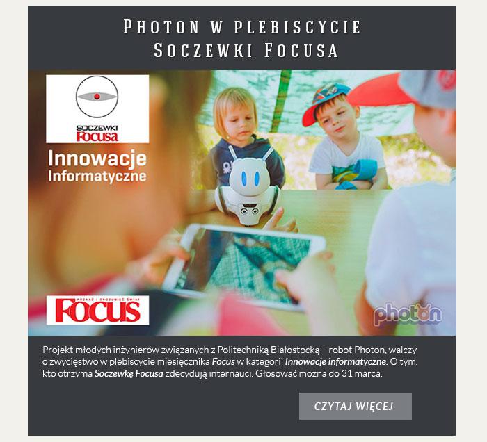 Photon w plebiscycie Soczewki Focusa