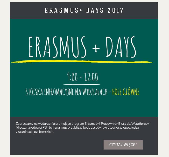 ERASMUS+ DAYS 2017