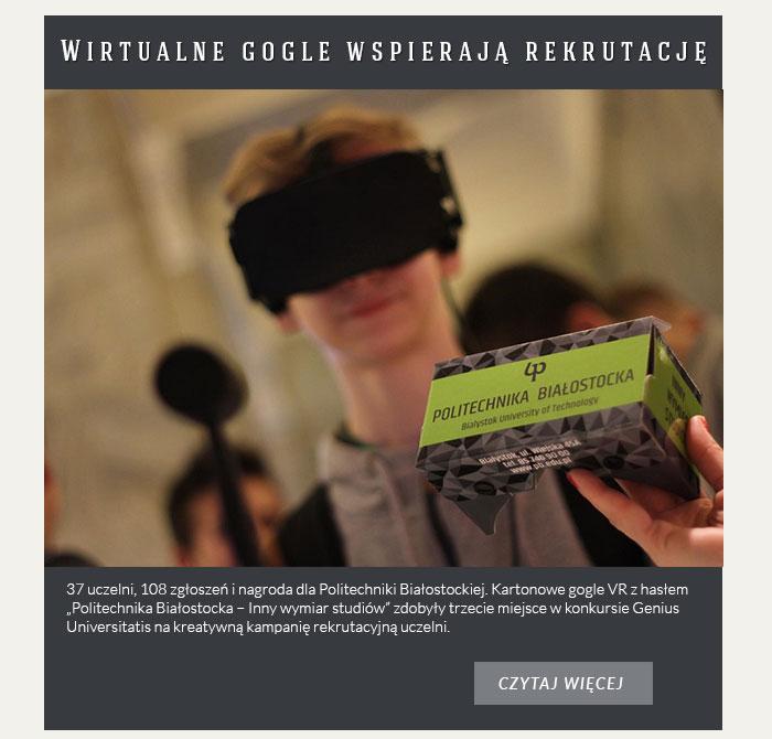 Wirtualne gogle wspierają rekrutację