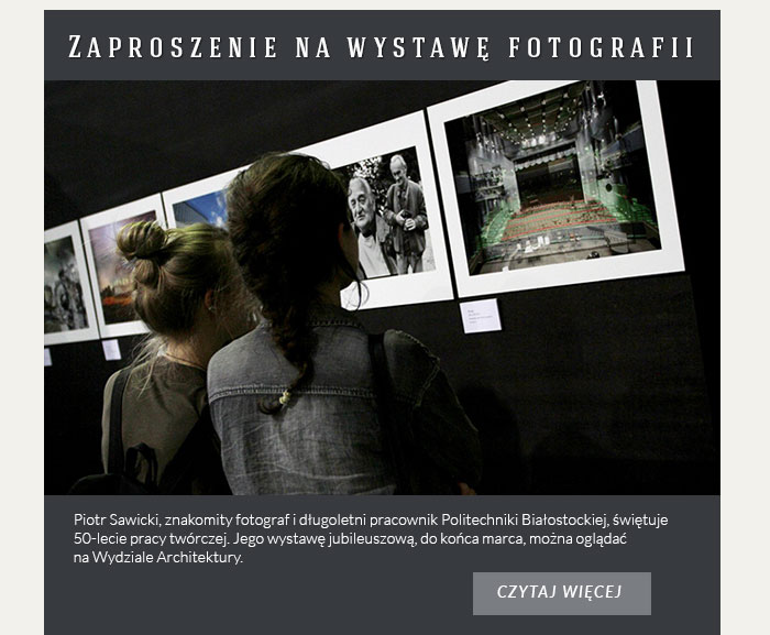 Zaproszenie na wystawę fotografii