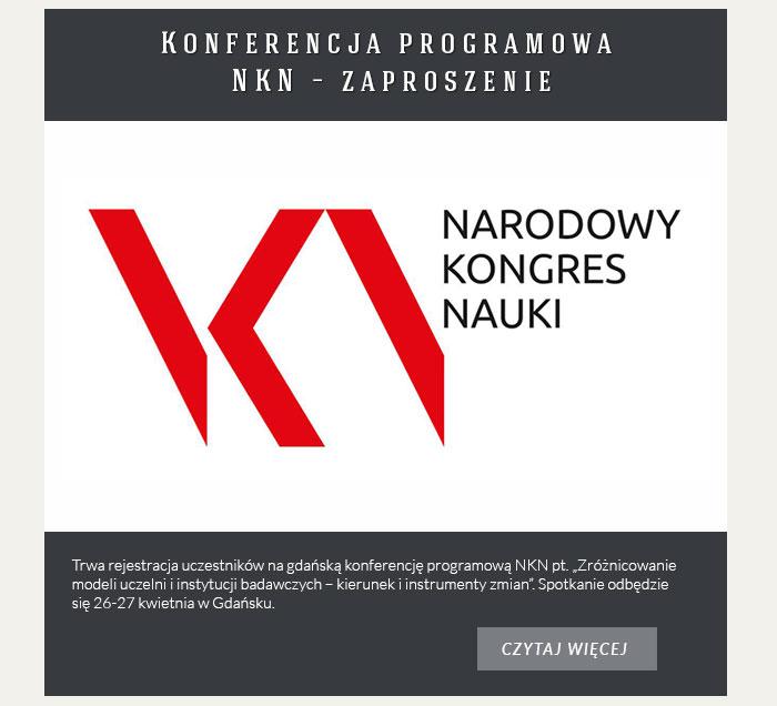 Konferencja programowa NKN – zaproszenie