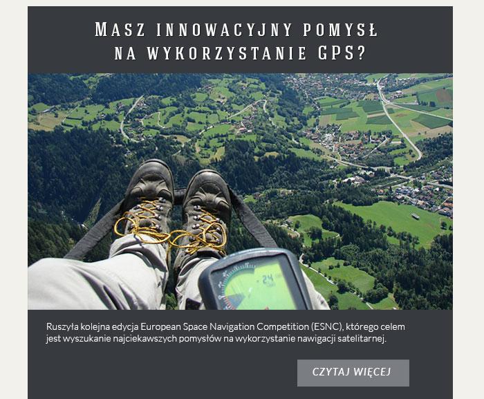 Masz innowacyjny pomysł na wykorzystanie GPS?