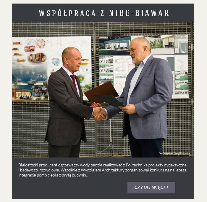Współpraca z NIBE-BIAWAR
