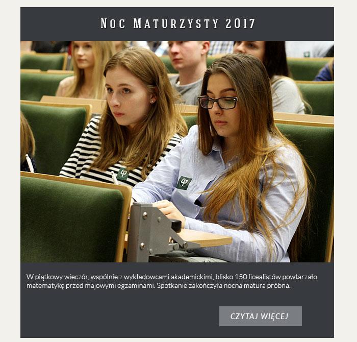 Noc Maturzysty 2017