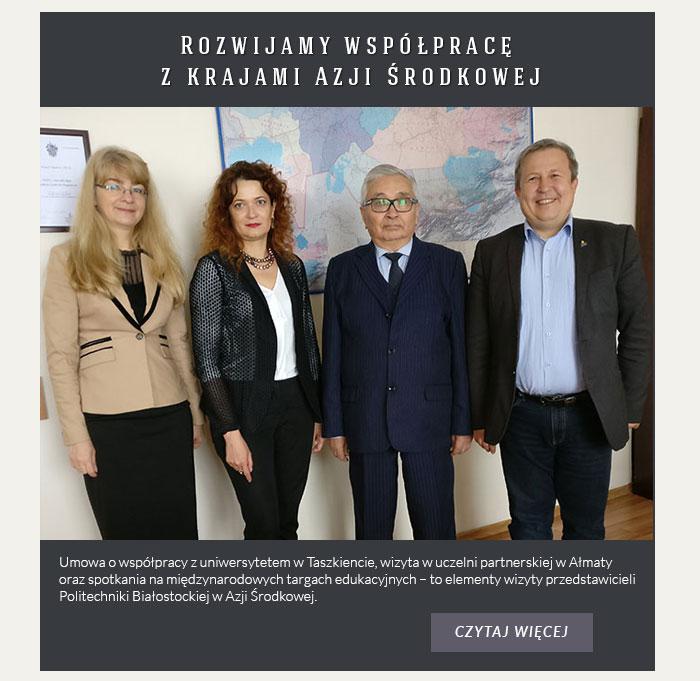 Rozwijamy współpracę z krajami Azji Środkowej