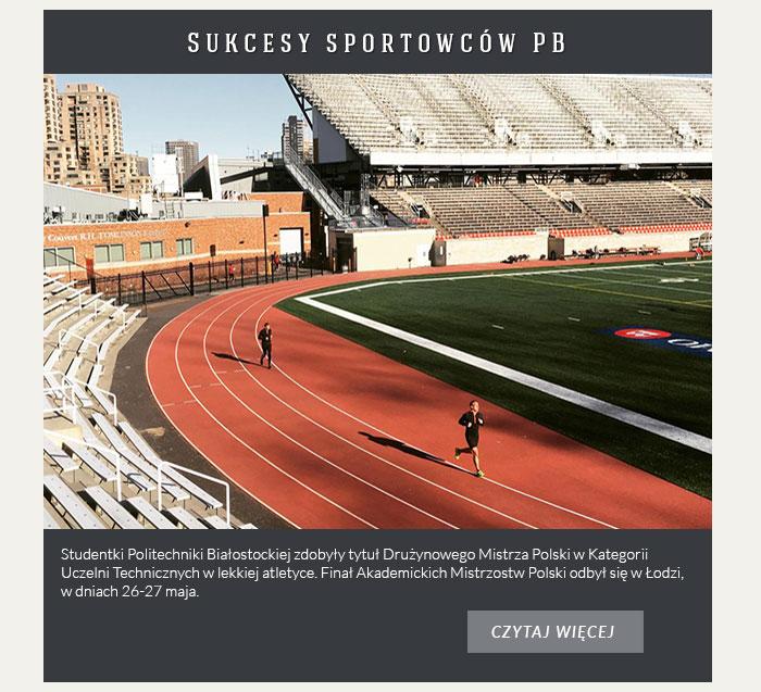 Sukcesy sportowców PB