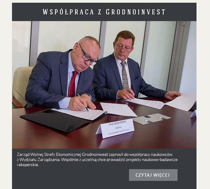 Współpraca z Grodnoinvest