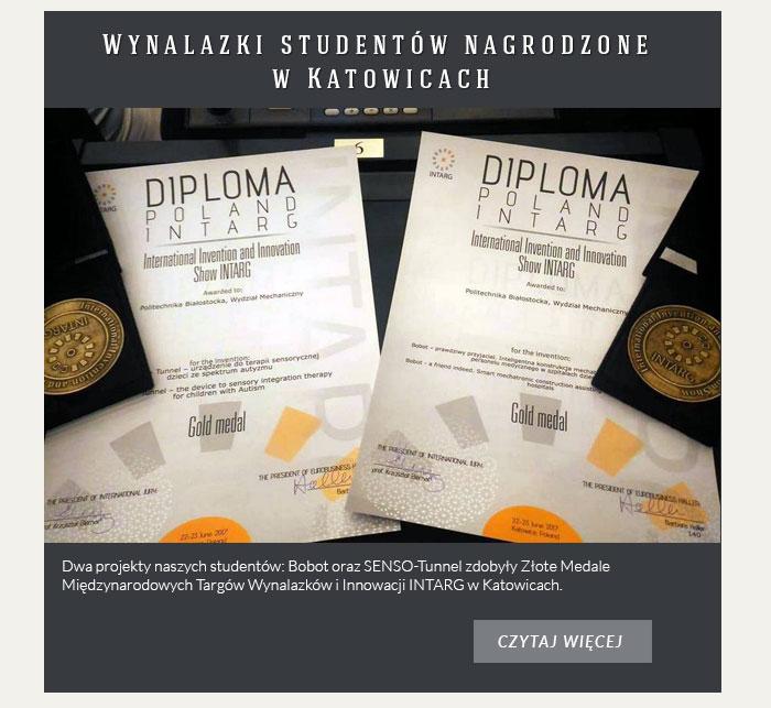 Wynalazki studentów nagrodzone w Katowicach