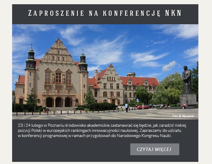 Zaproszenie na konferencję NKN