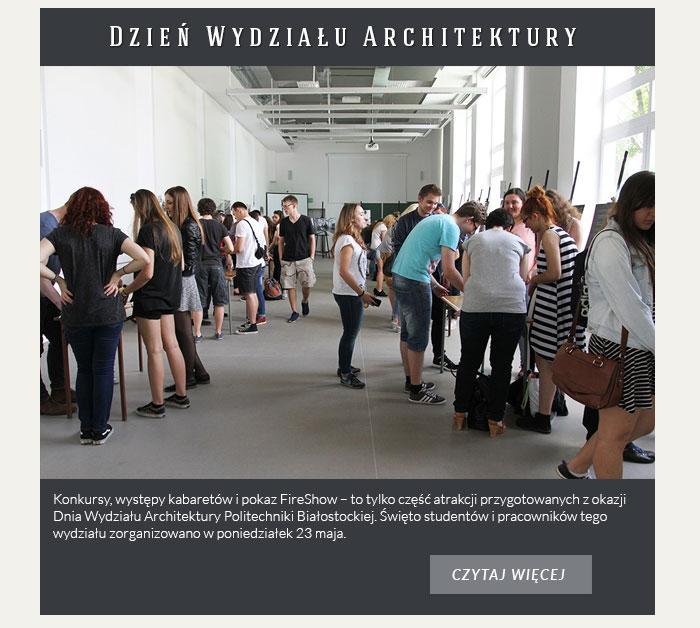 Dzień Wydziału Architektury